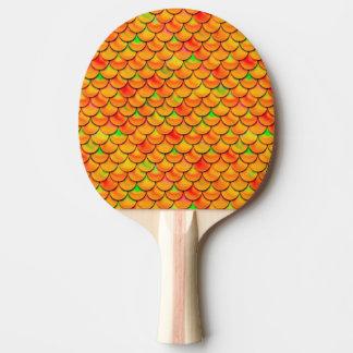 Échelles oranges et vertes de Falln Raquette Tennis De Table