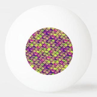 Échelles pourpres et vertes de Falln Balle De Ping Pong