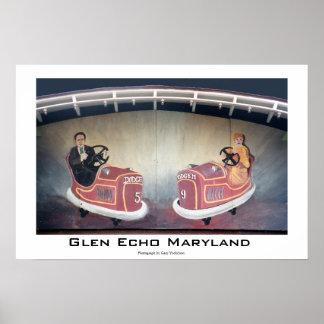 Écho le Maryland de gorge Affiches