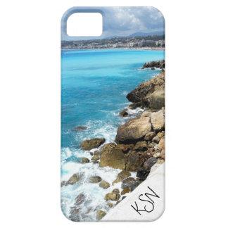 Échouez à Nice, cas décoré d'un monogramme de l'iP Coques Case-Mate iPhone 5