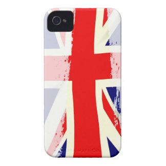 Éclaboussure BRITANNIQUE de drapeau Coques iPhone 4