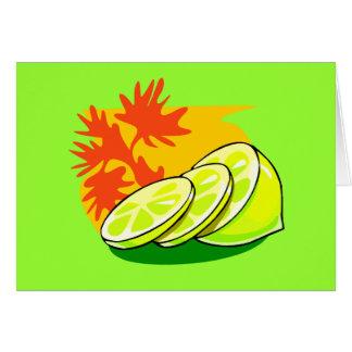 Éclaboussure de citron cartes