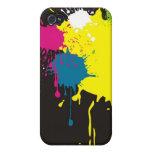 éclaboussure de couleur coque iPhone 4