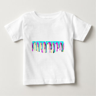 Éclaboussure de peinture de CMYK T-shirt Pour Bébé