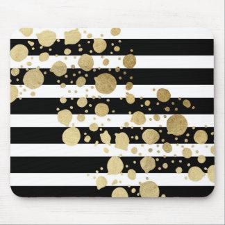 Éclaboussure de peinture d'or de Faux sur les Tapis De Souris