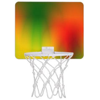 Éclaboussure de Rasta de couleur Mini-panier De Basket