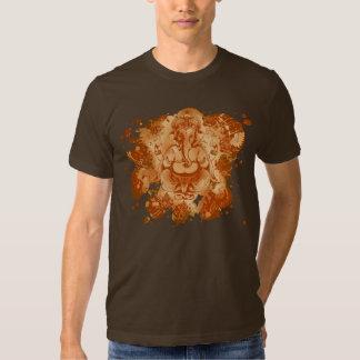 éclaboussure de rouille de ganesh t-shirt