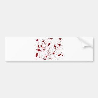 Éclaboussure de sang autocollant pour voiture