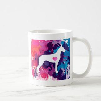 Éclaboussure des Danois colorés Mug
