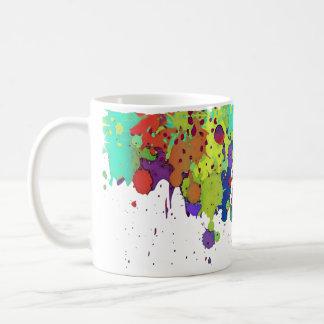 ÉCLABOUSSURE DRÔLE I DE COULEUR + vos idées Mug