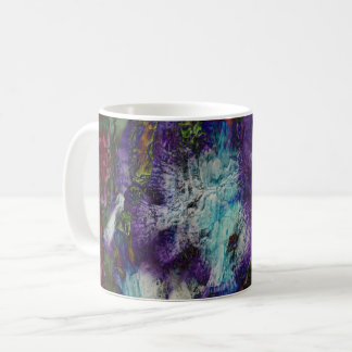Éclaboussure florale mug