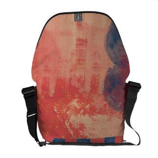 Éclaboussure urbaine de peinture de sacs messenger sacoches