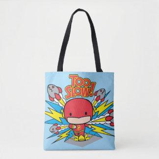 Éclair de Chibi dépassant Rocket Tote Bag