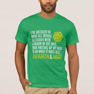 """""""Éclairez et stupéfiez """" T-shirt"""
