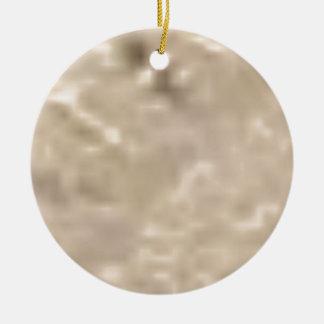 éclat blanc ornement rond en céramique