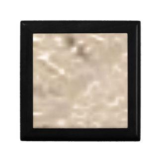 éclat blanc petite boîte à bijoux carrée