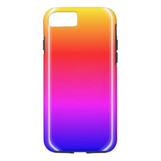 Éclat d'arc-en-ciel coque iPhone 7