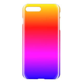 Éclat d'arc-en-ciel coque iPhone 7 plus