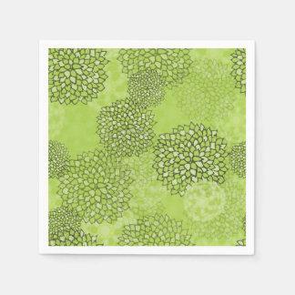 Serviettes olive verte zazzle - Serviette en papier vert fonce ...