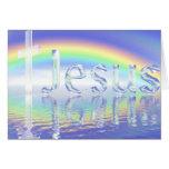 Éclat de Jésus d'éclat Carte De Vœux