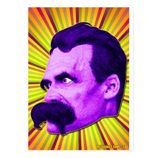 Éclat de Nietzsche ! Jaune et pourpre et Bursty ! Carte Postale