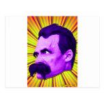 Éclat de Nietzsche ! Jaune et pourpre et Bursty ! Cartes Postales