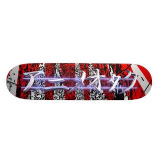 Éclat de rouge d'Otaku d'Anime Plateaux De Skateboards