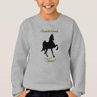 Éclat de Saddlebreds !  Sweatshirt d'enfants