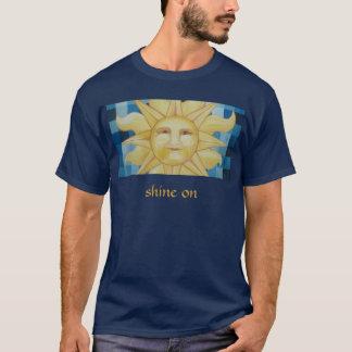 Éclat dessus t-shirt