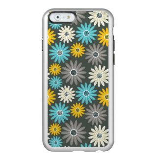 Éclat floral de l'iPhone 6/6s Feather®, argent Coque iPhone 6 Incipio Feather® Shine