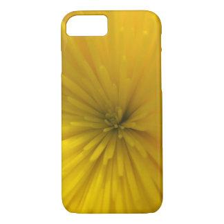 Éclat jaune de fleur coque iPhone 8/7