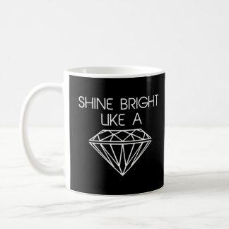 Éclat lumineux comme un diamant mug