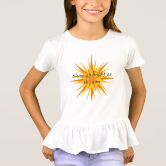 Éclat lumineux t-shirt