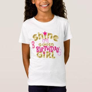 Éclat sur la fille d'anniversaire T-Shirt