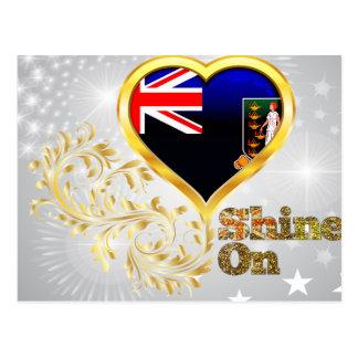 Éclat sur les Îles Vierges britanniques Cartes Postales