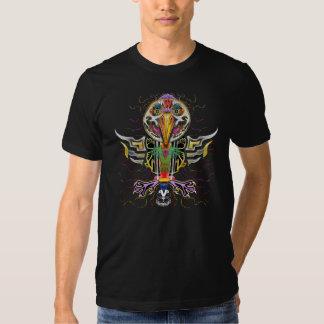 Éclatement de l'oiseau de Vanwizle T-shirt