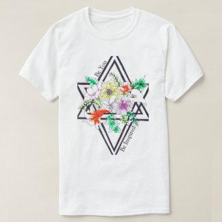 Éclatement floral t-shirt