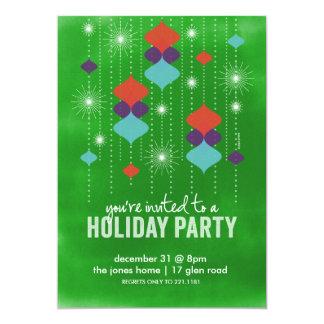 Éclats des lumières carton d'invitation  12,7 cm x 17,78 cm