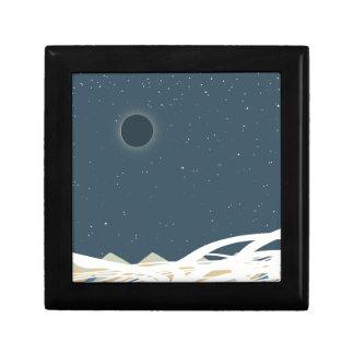 """Éclipse d'art de Sun avec des """"serpents """" Boîte À Souvenirs"""