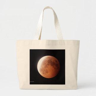 Éclipse lunaire sacs en toile