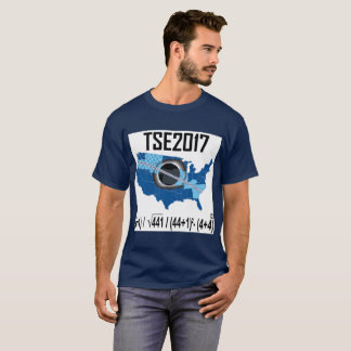 Éclipse-nouvelle manière 2017 solaire totale t-shirt