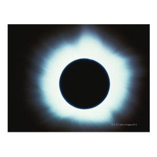 Éclipse solaire carte postale
