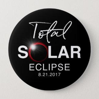 Éclipse solaire totale astonomy moderne 2017 pin's
