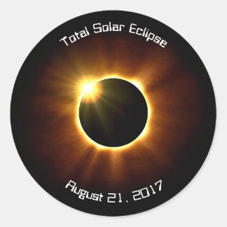 Éclipse solaire totale - autocollants