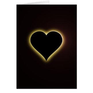Éclipse totale de ciel nocturne de Valentines du Cartes