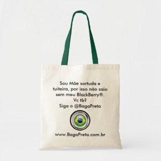 Ecobag Jour des Mères BagaPreta Sac En Toile Budget