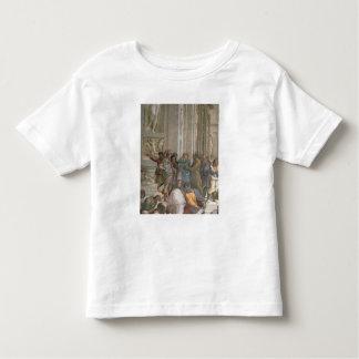 École d'Athènes, du della de strophe T-shirt Pour Les Tous Petits