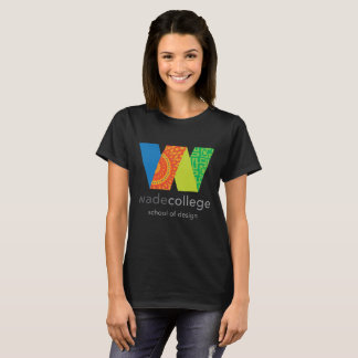 École de Wade de T-shirt de conception