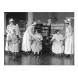École d'infirmières, les années 1900 tôt cartes postales