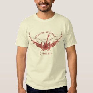 École du hard rock (rouge) t-shirts